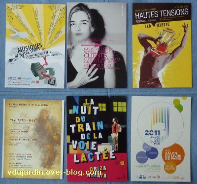 Envoi reçu de Capucine O, cartes à publicité, nouvel envoi de mars 2011, 10