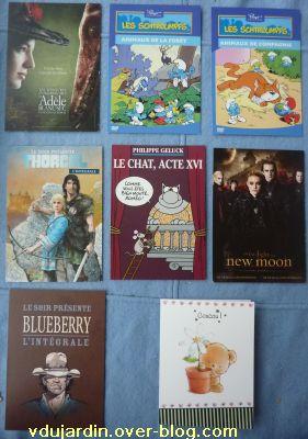 Envoi de cartes à publicité de Mamoune : bandes dessinées