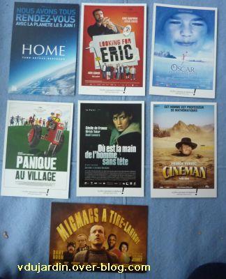 Envoi de cartes à publicité de Mamoune : affiches de film