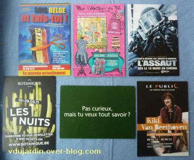 Envoi de cartes à publicité de Mamoune : un peu de tout
