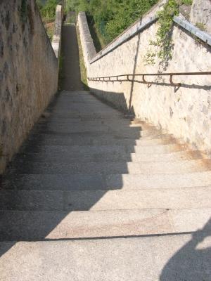L'escalier des Dunes à Poitiers