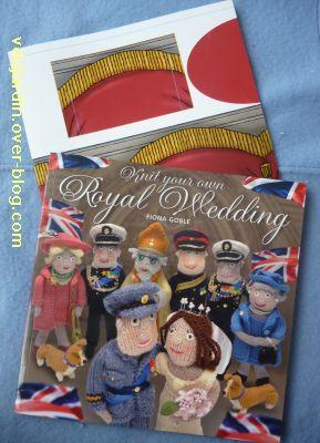 Londres, The wedding, 10, le livre des modèles de la famille royale au tricot