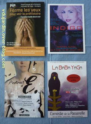 Cartes à publicité, publication 7 mai 2011, 05, de Capucine
