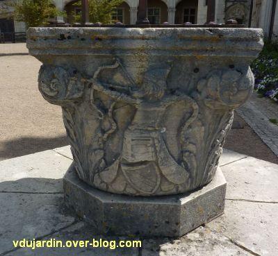 Chaumont-sur-Loire, 5, un deuxième archer sur le puits