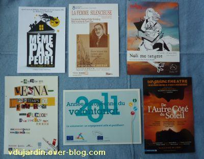 Cartes à publicité, publication 7 mai 2011, 13, de Capucine