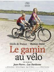 Affiche du gamin au vélo des frères Dardenne