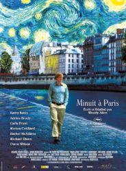 Affiche de minuit à Paris de Woody Allen