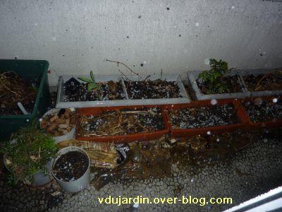 Poitiers, orage du 2 mai 2011, 20h30, 1, balcon