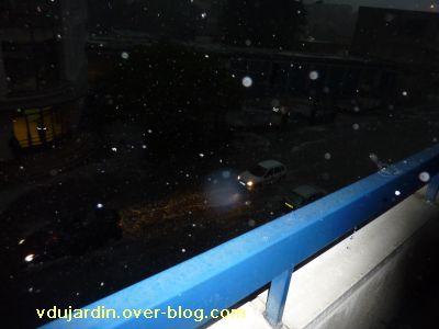 Poitiers, orage du 2 mai 2011, 20h30, 3, le boulevard Pont AChard sous l'eau