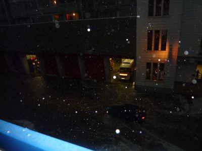 Poitiers, orage du 2 mai 2011, 20h30, 4, la caserne des pompiers de Pont Achard submergée