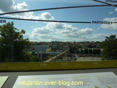 Poitiers l'expo, vue sur la vallée