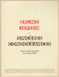 Couverture de Sincères condoléances de Erling Jepsen