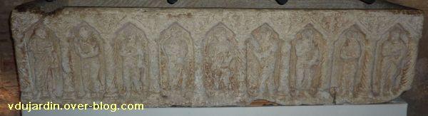 Toulouse, le sarcophage dans l'église Saint-Sernin, 02, la cuve