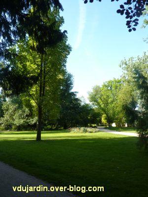 Tours, le jardin des plantes, 01, une vue d'ensemble