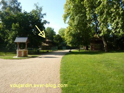 Tours, le jardin des plantes, 03, le parc animalier et le pavillon des daims