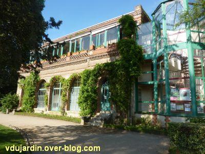 Tours, le jardin des plantes, 09, l'orangerie