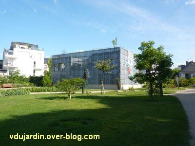 Tours, le jardin des plantes, 13, le bâtiment nord