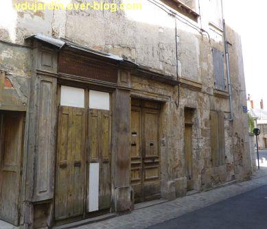 Défi photo, du bois, Poitiers, 2, devanture rue de la tête noire