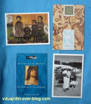 Echange d'été de Miss Fil, 10, des cartes d'art