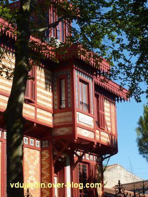 Défi photo, du bois, La Rochelle, 2, villa sur le mail, détail