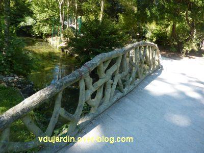 Défi photo, du bois, La Rochelle, 3, faux bois en béton au parc animalier