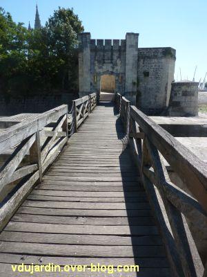 Défi photo, du bois, La Rochelle, 6, passerelle sur le fossé