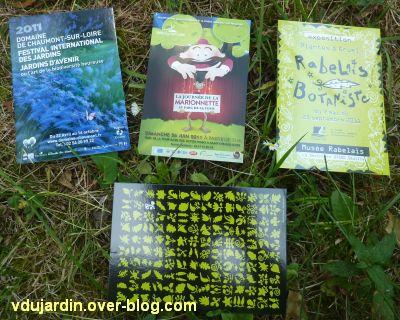 Art postal de Véro bis, juin 2011, 4, cartes à publicité