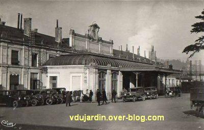 Poitiers, la gare vers 1930, vue 3
