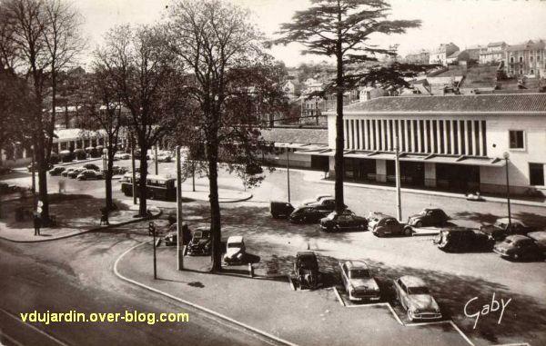 Poitiers, la gare vers 1950, vue 2