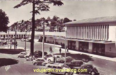 Poitiers, la gare vers 1950, vue 3