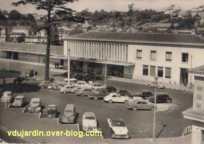 Poitiers, la gare vers 1950, vue 1