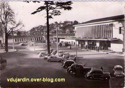 Poitiers, la gare vers 1950, vue 4