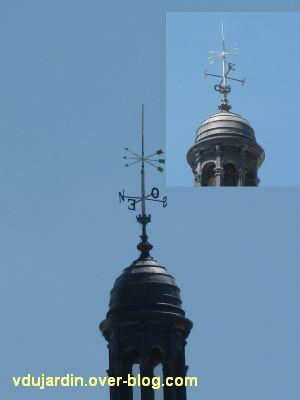 Poitiers, des girouettes, 08, la girouette de l'hôtel de ville