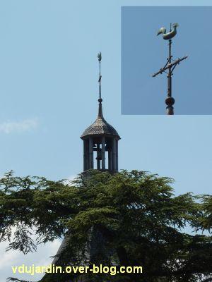 Poitiers, des girouettes, 18, le coq de Saint-Hilaire