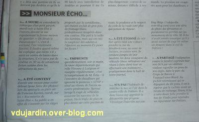 Poitiers, poubelles, juin 2011, 5, Centre Presse où M. Echo parle des girouettes