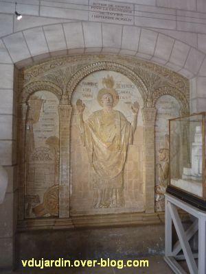 Tours, dans la basilique, la messe de St Martin par Alaphilippe, 01, vue générale