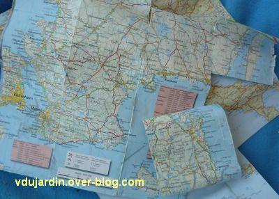 ATC calendrier 2011, juillet, la carte