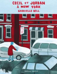 Couverture de Cecil et Jordan à New-York, de Gabrielle Bell
