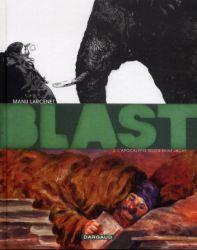 Couverture de Blast t. 2, l'apocalypse selon saint Jacky, de Manu Larcenet