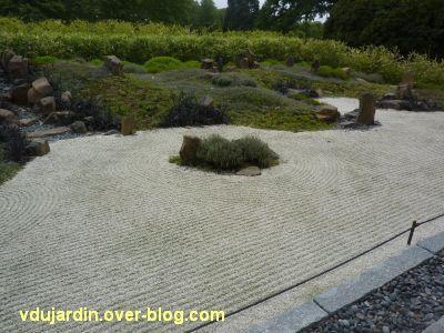 Chaumont-sur-Loire, jardin zen de Borja, 2, de près