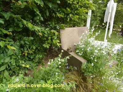 Chaumont-sur-Loire, festival 2011, le jardin n° 13, 5, le fauteuil