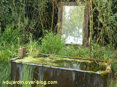 Chaumont-sur-Loire, festival 2011, le jardin n° 13, 9, la baignoire