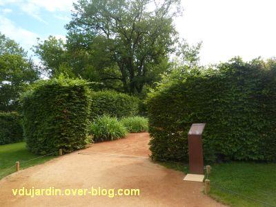 Chaumont-sur-Loire, festival 2011, le jardin7, 1, l'entrée
