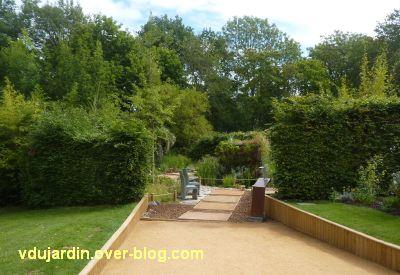 Chaumont-sur-Loire, festival 2011, le jardin n° 8, 1, l'entrée