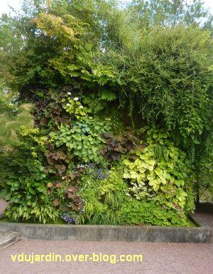 Chaumont-sur-Loire, festival 2011, mur végétal de Blanc dans le jardin expérimental, 4