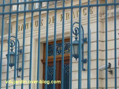 Défi photo, derrière les barreaux à Poitiers, 3, la banque de France
