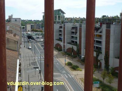 Défi photo, derrière les barreaux à Poitiers, 4, depuis la grande passerelle