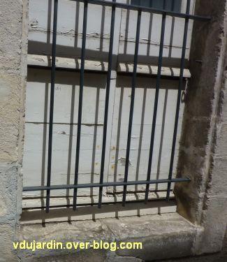 Défi photo, derrière les barreaux à Poitiers, 7, des barreaux à la fenêtre