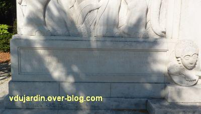 La Rochelle, les pionniers de Côte d'Ivoire, 05, l'inscription de gauche