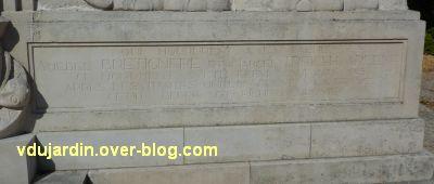 La Rochelle, les pionniers de Côte d'Ivoire, 08, l'incription à droite
